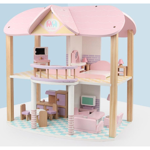 Bộ đồ chơi gỗ nhà búp bê của công chúa - MG6633