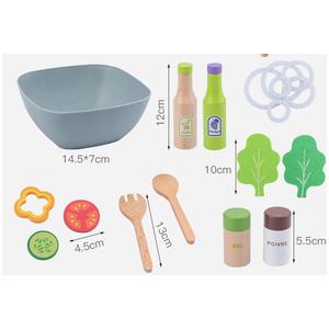 Bộ đồ chơi gỗ Salat trái cây và rau củ MG005