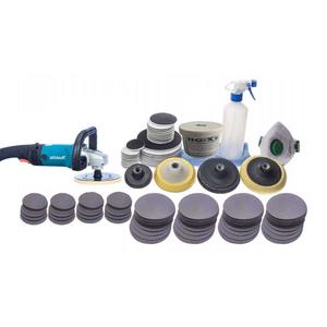 Bộ dụng cụ phục hồi mài bóng các dạng kính trầy xước (cty nhôm kính, chăm sóc xe, nhà máy kính)
