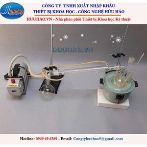 Bộ dụng cụ chưng cất chân không thủy tinh 2000 ml phòng thí nghiệm