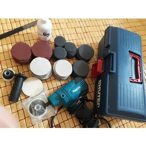 Bộ dung cụ đánh bóng kính, xử lý kính trầy xước cho các tiệm chăm sóc xe hơi
