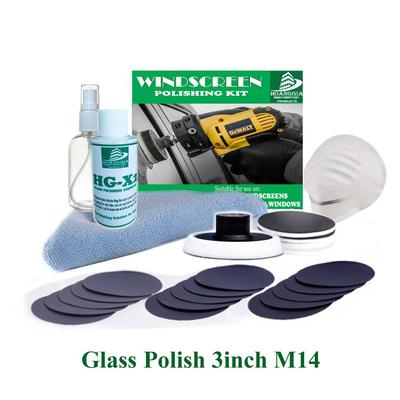 BỘ dụng cụ mài vết trầy xước nhỏ trên kính, gương loại 3inch M14