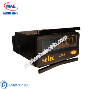 Bộ hiển thị tốc độ và đếm tổng - Model LXC9