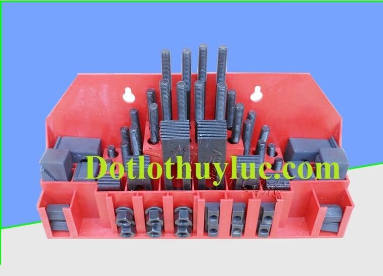 Bộ gá kẹp 52 chi tiết CK-08, CK-10, CK-12, CK-14, CK-16, CK-18, CK-20, CK-22, CK-24 Trung Quốc