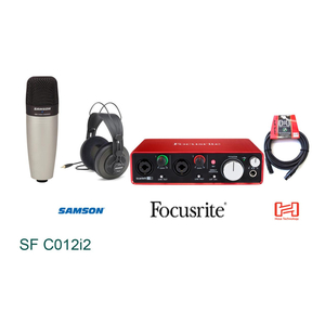 Bộ Kit thu âm Samson C01 Focusrite 2i2 (SF C012i2)