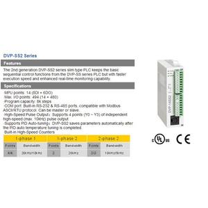 Bộ lập trình PLC Delta DVP14SS211R, DVP14SS211T