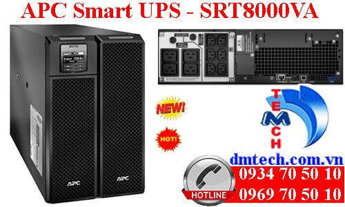 Bộ lưu điện APC Smart UPS SRT8KXLI