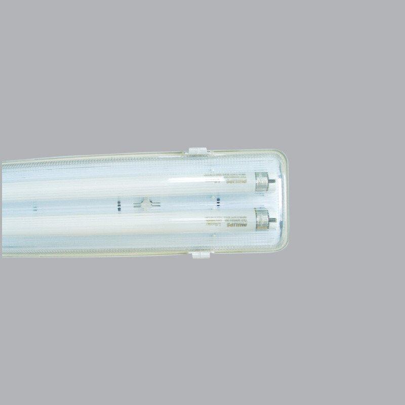Bộ Máng Chống Thấm Sử Dụng Led Tube 2 bóng 1.2m