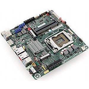 Bo mạch chủ Intel DQ77KB NAS NIC kép với nguồn điện DC ITX Mini 1155 GA-B75 / H77TN