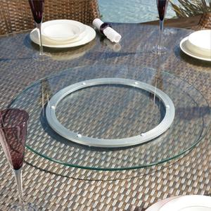 bộ mâm xoay bàn tiệc 90cm, kính 10ly, mài bóng cạnh, bmx26