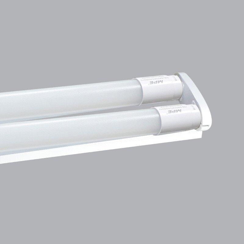 Bộ Máng Đèn Batten Led Tube T8 NANO PC Bóng Đôi MPE 60cm