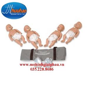 Bộ mô hình hồi sức tim phổi trẻ sơ sinh
