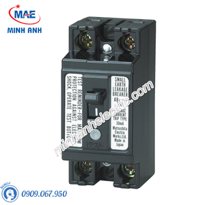 Bộ ngắt mạch an toàn 2P 30A 15mA 1.5KA 240VAC - BJS30208A2