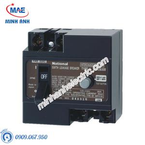 Bộ ngắt mạch an toàn 2P 30A 30mA 2.5KA 240VAC - BJJ23030-8