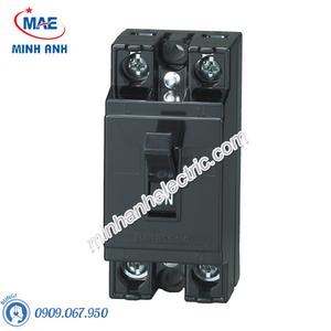 Bộ ngắt mạch an toàn MCCB 2P 10A 1.5KA 240VAC - BS1110TV
