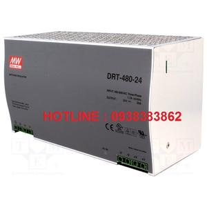 Bộ nguồn Dinrail Meanwell DRT-480-24, DRT-480-48