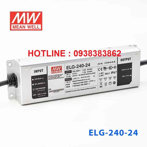 Bộ nguồn Led Meanwell ELG-240-24, ELG-240-36, ELG-240-48