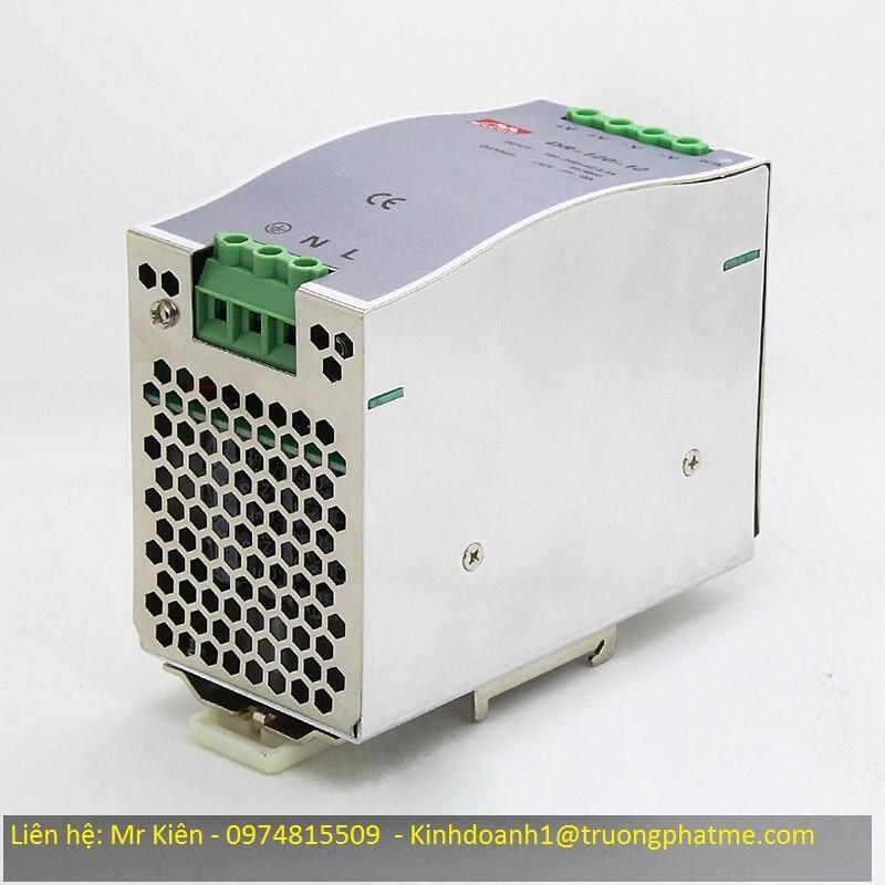 Bộ nguồn Din Rail 24VDC-120W- 5A