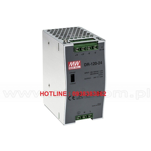 Bộ Nguồn Dinrail Meanwell DR-120-12, DR-120-24, DR-120-48