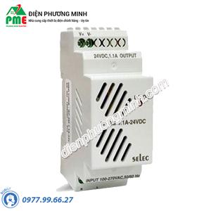Bộ nguồn Selec RP-2M 1.1A 24VDC