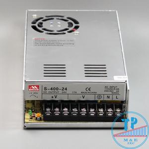 Bộ nguồn tổ ong 400W/24VDC/16A