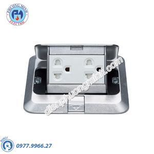 Bộ ổ cắm âm sàn gồm 2 ổ cắm 3 chấu - Model DU5983LT9-1