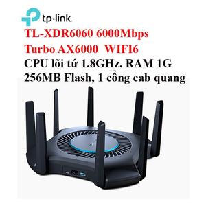 Bộ phát không dây TP-LINK TL-XDR6060 Turbo AX6000 WIFI6 6000 MBps, CPU 1.8G, RAM 1G,256MB Flash