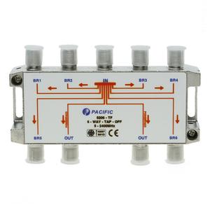 Bộ rẽ truyền hình cáp 6 cổng Pacific Tap Off 5206 - TF