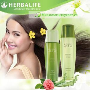 Bộ sản phẩm dầu gội và dầu xả Herbalife Aqua