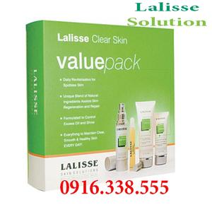 bộ sản phẩm Lalisse Clear Skin Value Pack (bộ lớn)Giải pháp điều trị thích hợp cho các loại da mụn