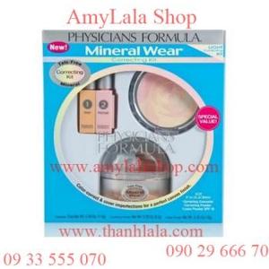 Bộ set phấn mặt PF Mineral Wear® Talc-Free Mineral - 0902966670 - 0933555070