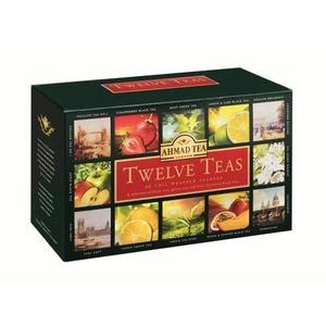 Bộ sưu tập 12 vị trà - Hộp giấy 120 g