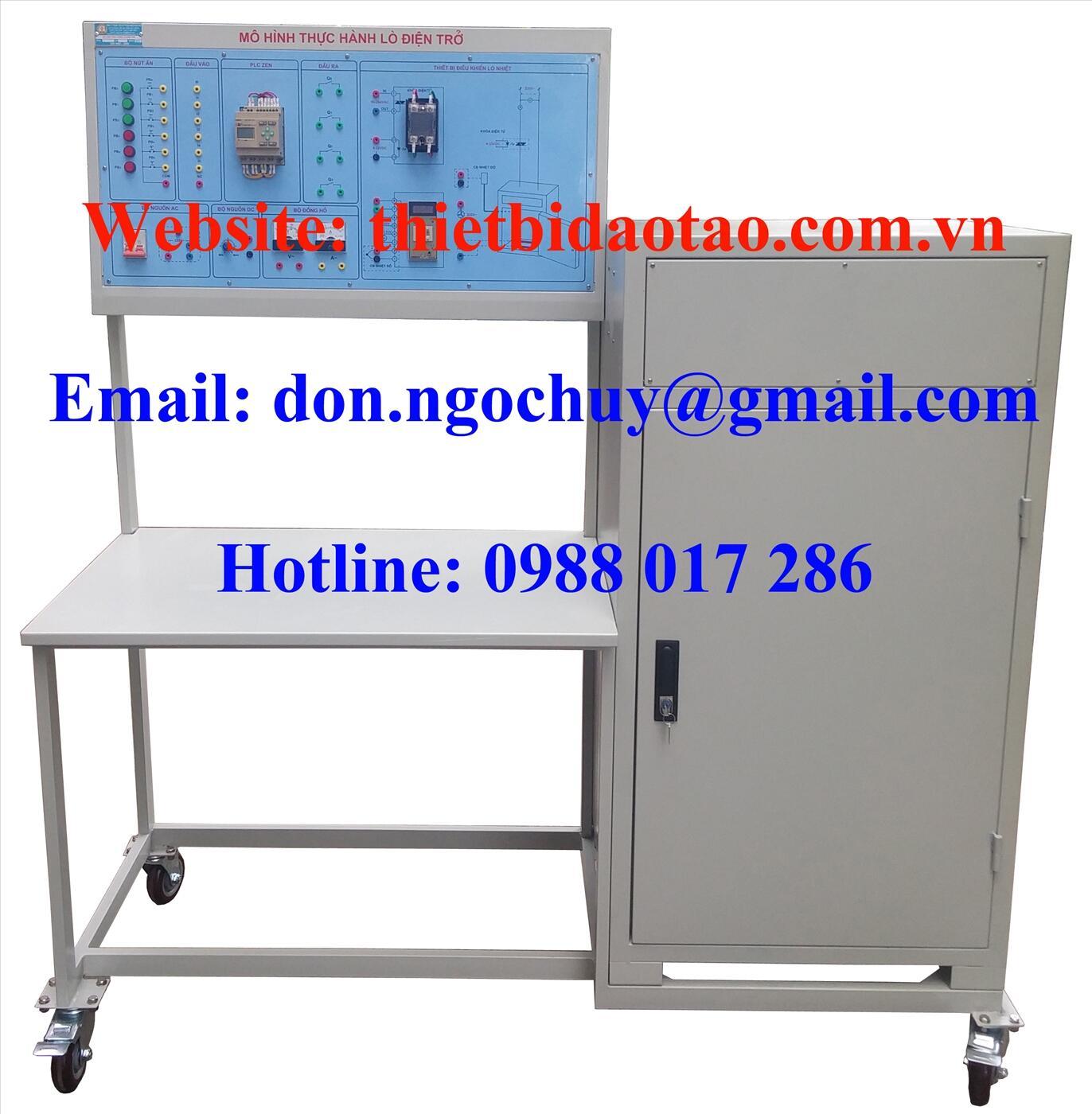 Bộ thí nghiệm điều khiển lò nhiệt