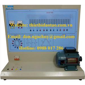 Bộ thí nghiệm khảo sát đặc tính cơ máy điện 1 chiều.