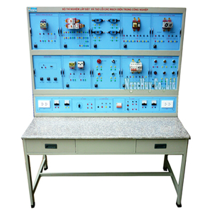 Bộ thí nghiệm lắp đặt và tạo lỗi các mạch điện trong công nghệp