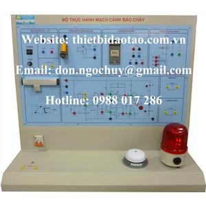 Bộ thực hành kỹ năng lắp đặt hệ thống báo cháy