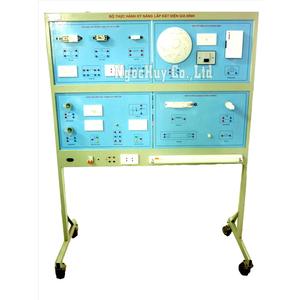 Bộ thực hành lắp đặt kỹ thuật điện gia đình