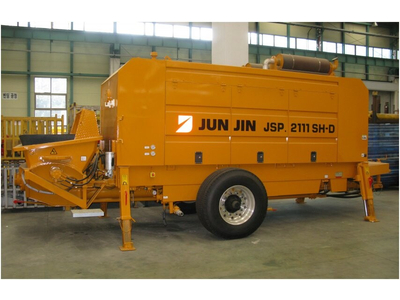 Bơm bê tông tĩnh Junjin 107 m3/giờ