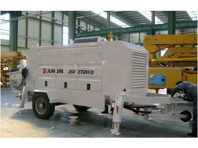 Bơm bê tông tĩnh Junjin 118 m3/giờ