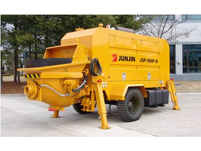 Bơm bê tông tĩnh Junjin 60 m3/giờ