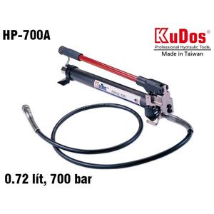 Bơm dầu thủy lực bằng tay Kudos HP-700A, HP-700AG