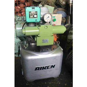 Bơm điện thủy lực áp cao 700Bar Riken