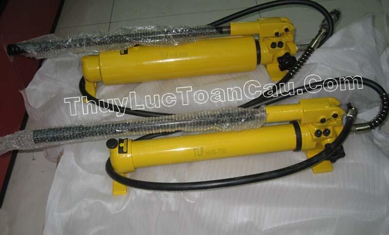 Bơm tay thủy lực, Bơm thủy lực dùng tay HHB-700A - Ảnh thật sản phẩm