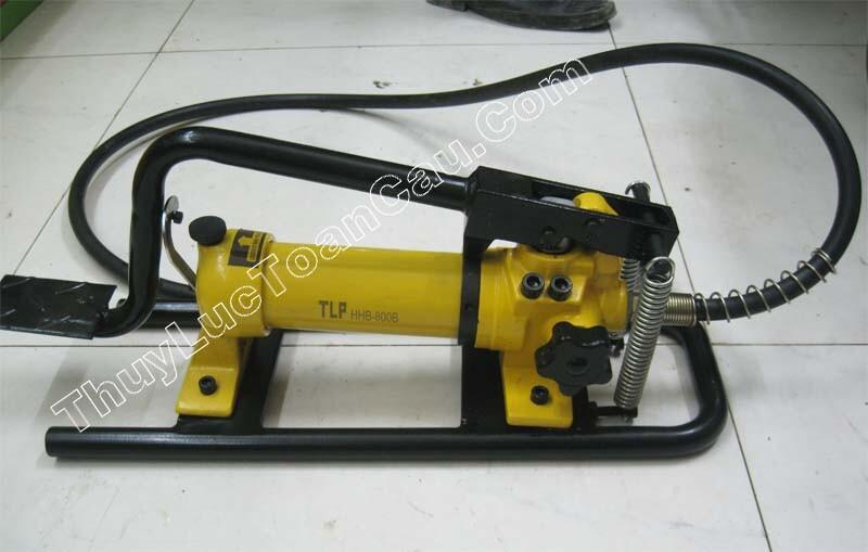 Bơm chân tay thủy lực HHB-800B, Bơm thủy lực dùng bằng chân tay