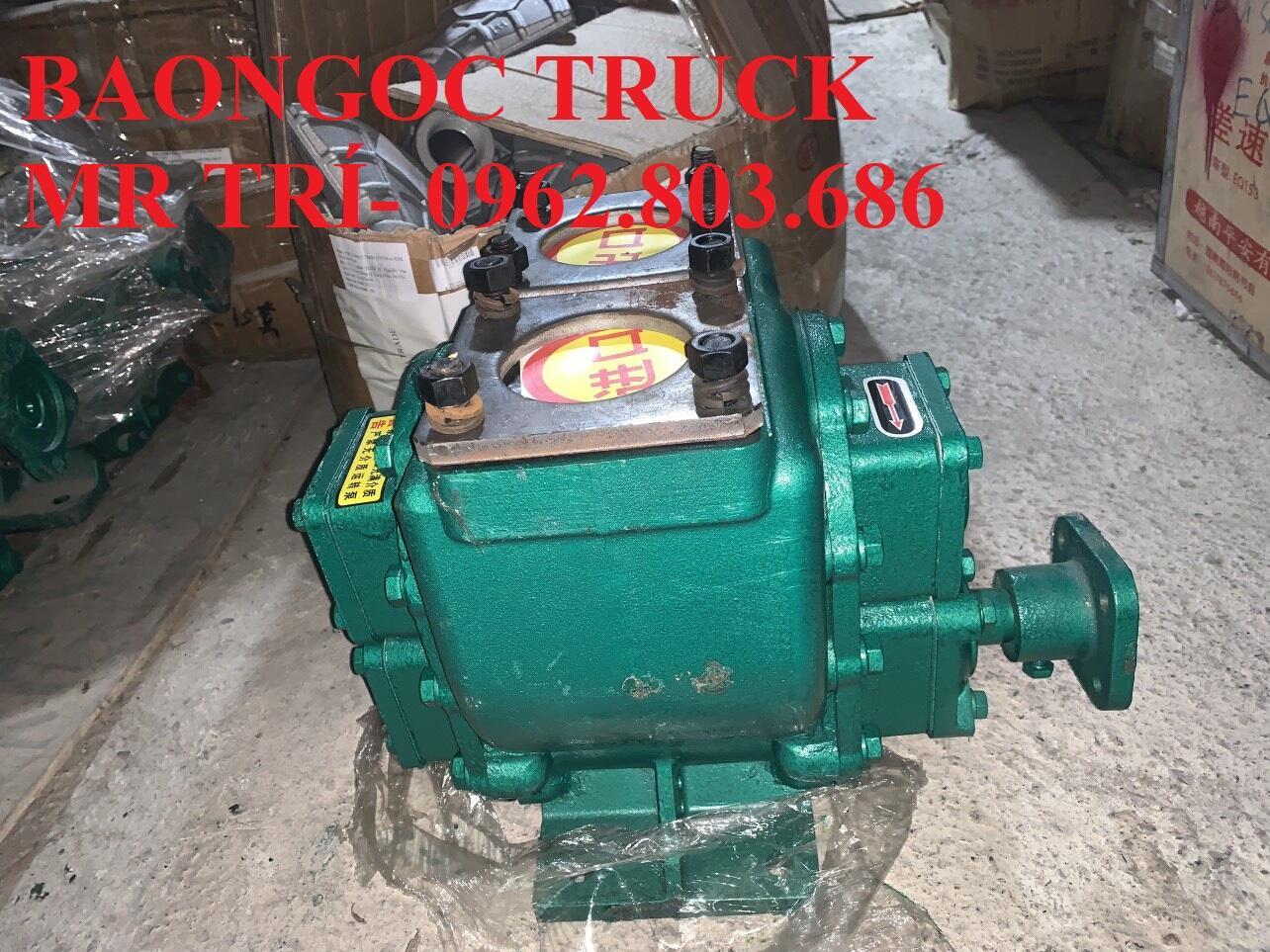 Bơm xăng dầu 60 m3 lắp cho các loại xe dongfeng, thaco