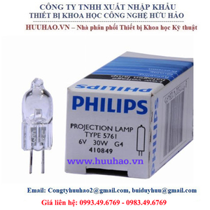 Bóng đèn PHILIPS 6V 30W G4 5761
