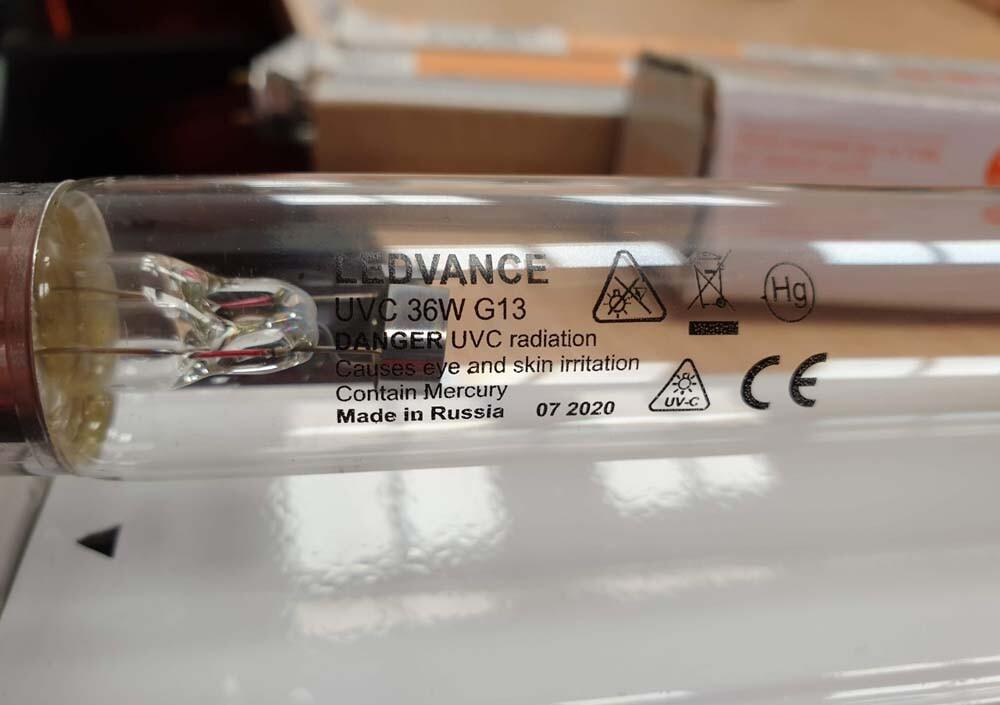 Bóng đèn cực tím UVC T8 Ledvance