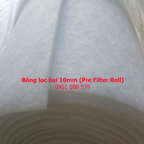 Bông lọc bụi 10mm (Pre Filter Roll)