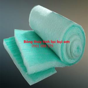 Bông lọc bụi phòng sơn sợi thủy tinh (Fiberglass Paint Stop Filter)