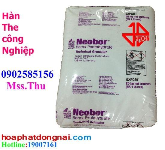 Hàn The Công nghiệp (Borax Decahydrate Na2B4O7.10H2O 99.5%)